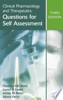Clinical Pharmacology And Therapeutics Questions For Self Assessment Third Edition Book PDF