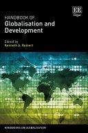 Pdf Handbook of Globalisation and Development Telecharger