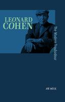 Pdf Leonard Cohen, the Modern Troubadour Telecharger