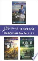 Harlequin Love Inspired Suspense March 2019   Box Set 1 of 2 Book