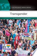 Transgender  A Reference Handbook Book