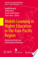 Mobile Learning in Higher Education in the Asia Pacific Region Book