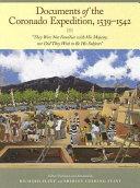 Documents of the Coronado Expedition, 1539-1542