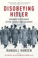 Pdf Disobeying Hitler Telecharger