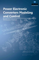 Power Electronic Converters Modeling and Control