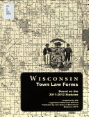 Wisconsin Town Law Forms Book PDF