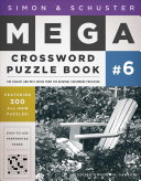 Simon   Schuster Mega Crossword Puzzle Book  6