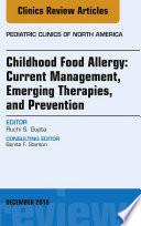 Childhood Food Allergy