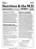 Nutrition   the M D  Book
