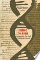 Editing the Bible