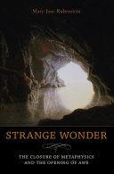 Strange Wonder