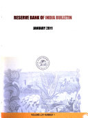 Reserve Bank of India Bulletin