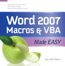 Word 2007 Macros   VBA Made Easy