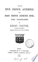 The Eton French accidence and first French exercise book