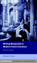 Writing Marginality in Modern French Literature