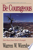 Be Courageous Book
