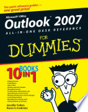 Outlook 2007 All In One Desk Reference For Dummies Book PDF