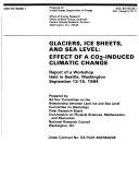 Glaciers  Ice Sheets  and Sea Level