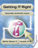Getting It Right Teacher Support Packs 2 Levels 4 5 Book PDF