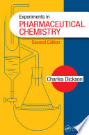 Experiments in Pharmaceutical Chemistry Book