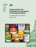 Canned Fruit and Vegetable Consumption in the United States