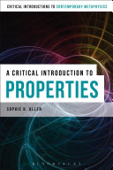 Pdf A Critical Introduction to Properties Telecharger