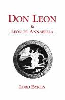Don Leon and Leon to Annabella