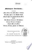 Shakespeare Jest Books