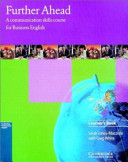 Further Ahead Learner s book