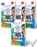 Oswaal Cbse Question Bank Class 12 Set Of 4 Books Hindi Core History Geography Political Science Combined Updated For Term 1 2