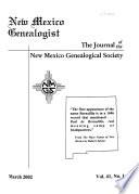 New Mexico Genealogist