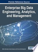 Enterprise Big Data Engineering  Analytics  and Management
