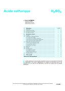 Acide Sulfurique ebook