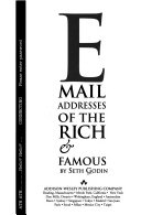 E mail addresses of the rich & famous