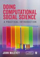 Doing Computational Social Science