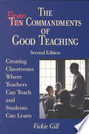 Read Online The Eleven Commandments of Good Teaching For Free