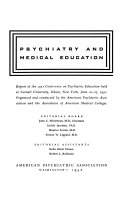 Psychiatry and medical education