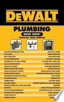 DeWalt Plumbing Quick Check