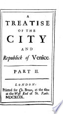 The City and Republick of Venice  Etc   Translated by Fra  Terne   Book