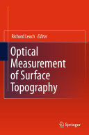 Optical Measurement of Surface Topography