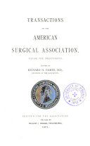 Transactions Of The American Surgical Association Book PDF