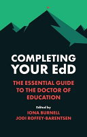 Completing Your EdD