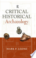 Critical Historical Archaeology