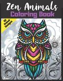 Zen Animals Coloring Book