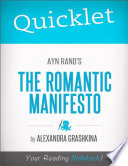 Quicklet on Ayn Rand s The Romantic Manifesto