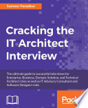 Cracking The It Architect Interview Book PDF