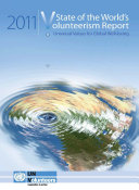 State of the World s Volunteerism Report 2011