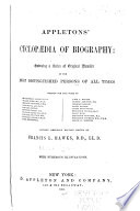 Appletons Cyclop Dia Of Biography