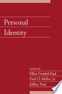 Personal Identity  Volume 22  Part 2