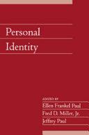 Personal Identity: Volume 22